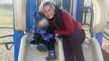 Michelle Hanson, 35, is seen in this undated photograph.