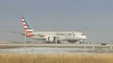 American Airlines - Emergency landing in Calgary