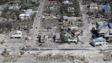 Homes destroyed by Michael