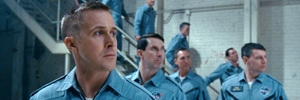 A scene from 'First Man'