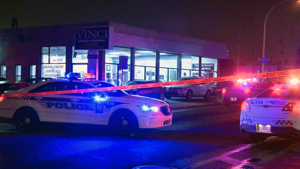 A man in his thirties was shot and killed in Laval on Thursday Oct. 11, 2018