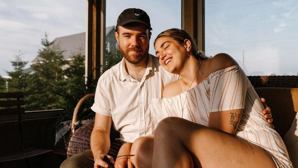 Vanessa-Lyn Mercier and Sean Berrigan