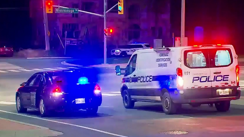 Police say a young woman was seriously injured in an apparent hit-and-run in Brampton on October 11, 2018.