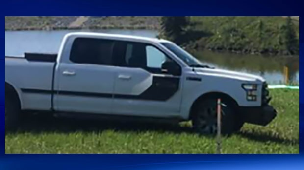 An image of the recovered truck was released by police on Friday, October 12, 2018.
