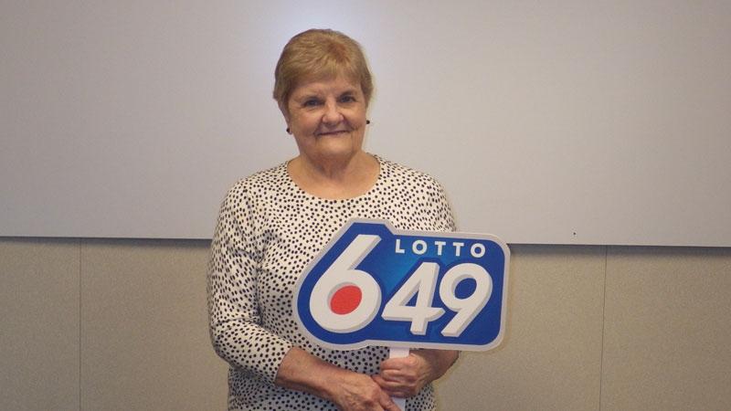 Diana Becker bought her winning ticket in southeast Edmonton. Supplied.