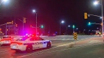 Hit-and-run in Brampton