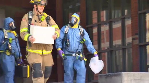 Suspicious powder investigation - SAIT