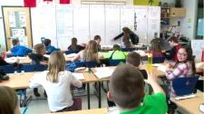 Saskatchewan classroom file shot
