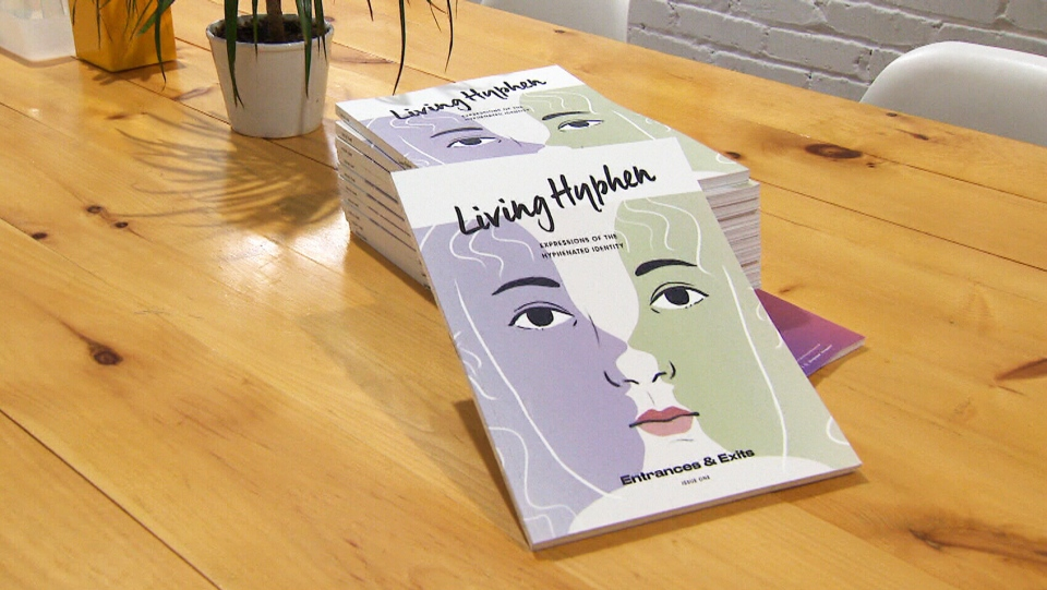 """Living Hyphen"" features stories, photography, poetry and art from dozens of contributors across Canada that illustrate that challenges and triumphs of living with mixed identities."