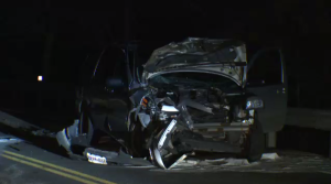 Head-on collision near Elora sends two men to hospital.