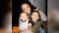 Jordana Jacobson with her children
