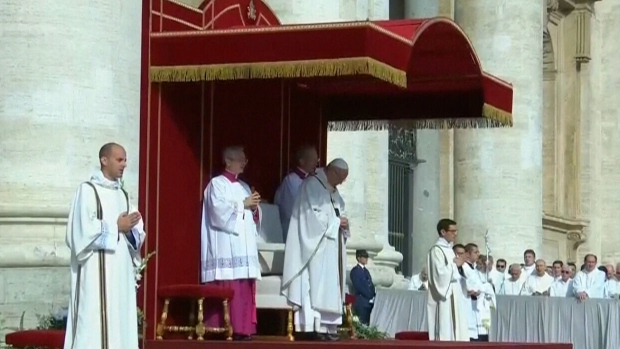 Pope Paul VI, Oscar Romero canonized by Pope