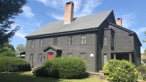 This house was built in 1638 and belonged to a man who was hanged during the Salem witch trials. It is now listed for sale with an asking price of $600,000. (J Barrett & Company Realty)
