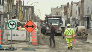 A major renovation project on St-Hubert Plaza has some merchants shutting their doors, while newcomers said they see opportunity.