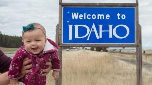 Harper Yeats visits Idaho. (Instagram / @Harper.Yeats)