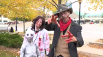 Zombie walk in Kitchener