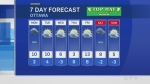 Sunday 6 p.m. weather update