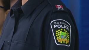 The Peel Regional Police logo is seen in this file image.