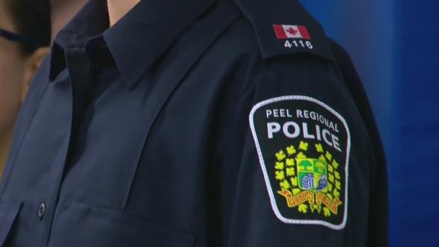 The Peel Regional Police logo is seen in this file image.