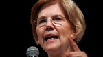 U.S. Sen. Elizabeth Warren, D-Mass., speaks during a town hall-style gathering in Woburn, Ma., Wednesday, Aug. 8, 2018. (AP / Charles Krupa)