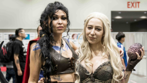 Check out some of the amazing cosplay outfits that were on display at this weekend's Fan Expo Vancouver, with villains including Cersei Lannister and Freddy Krueger and heroes ranging from Batman to Belle. (Photographer: Anil Sharma)