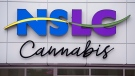 When cannabis becomes legally available to purchase on Oct. 17, 2018, residents can make their purchases at 12 Nova Scotia Liquor Corporation stores across the province. The location on Clyde St. in downtown Halifax, seen Tuesday, Oct. 9, 2018, is the province's only stand-alone store. (THE CANADIAN PRESS/Andrew Vaughan)