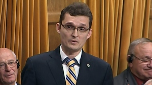 MP gives emotional speech about infant's death