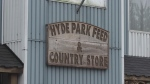 Hyde Park Feed And Country Store sign