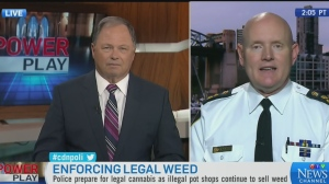 Enforcing legal weed across the country