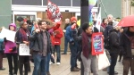 Protestors want $15 an hour minimum wage