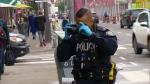 Police stabbing Koreatown