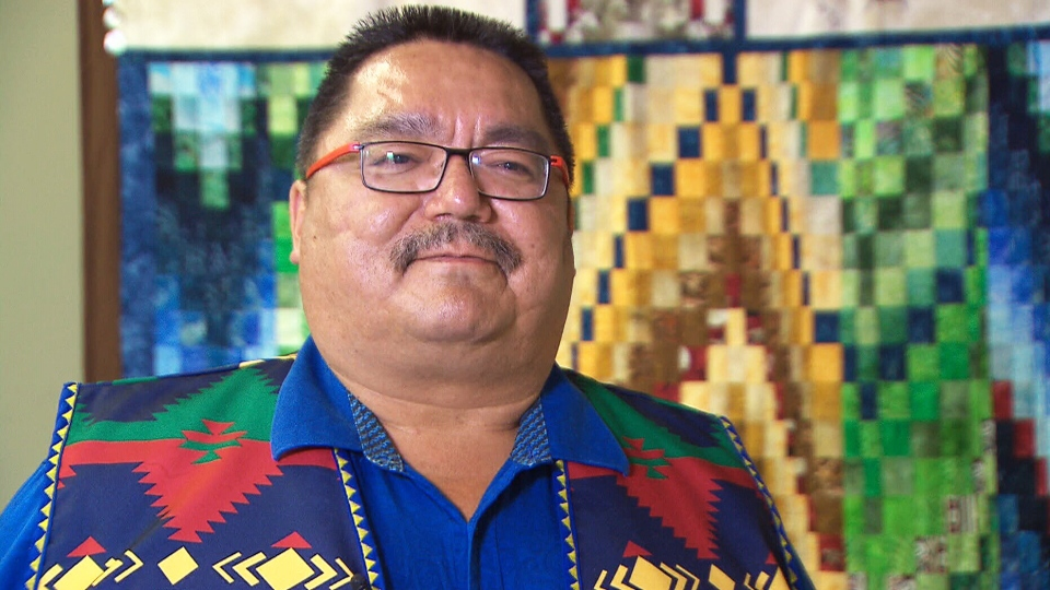 Peguis First Nation Chief Glenn Hudson
