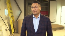 Opaskwaya Cree Nation Chief Christian Sinclair