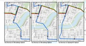 Bus Rapid Transit proposal for Saskatoon