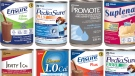 Examples of the recalled Abbott brand formulated liquid nutrition products in 235 mL metal cans (CFIA / HO)