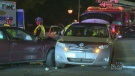 Woman arrested for assaulting paramedic post-crash