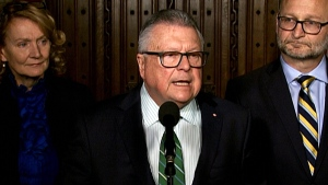Minister Goodale comments on briefing