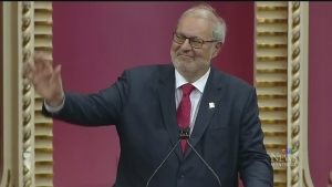 Pierre Arcand, interim leader of the Liberal party, said Liberals would never ban religious symbols by people in authority