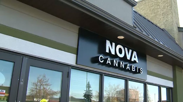 Nova Cannabis in Willow Park is one of two stores to open on the first day of legalization.