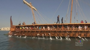 Try the trireme: replica ship in Montreal