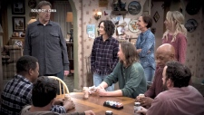 Conner family returns to TV without Roseanne