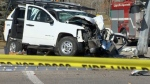 Calgary police are scene of a serious crash at University Drive and 13 Avenue Northwest