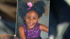 Efua Ogbeide, 6, died from injuries she sustained after she was hit by a CTrain on Monday, October 15, 2018.