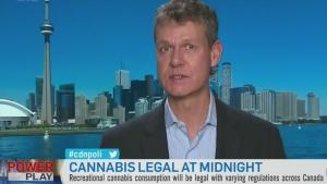 Cam Battley of Aurora Cannabis Inc. speaks about l