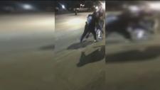 stabbing video