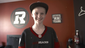 Redblacks reach out to young fan