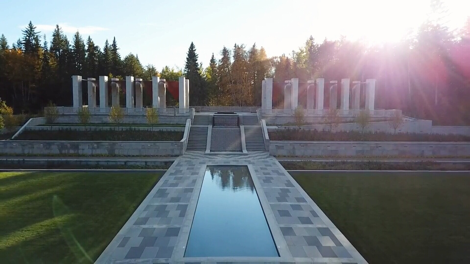 The Aga Khan Garden at the University of Alberta Botanic Garden opened in June 2018, after almost a decade of planning and 18 months of construction. Courtesy: University of Alberta.