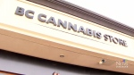 Sign goes up for B.C.'s 1st licensed pot retailer