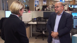 Washington Post journalist Jason Rezaian speaks to CTV News about the disappearance of his friend and colleague, Saudi Arabian writer Jamal Khashoggi. (CTV News)