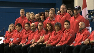 CTV National News: Salute to Canadian contingent